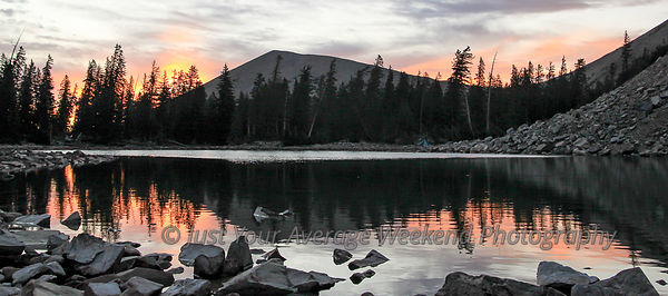 Baker Lake Sunrise - Great Basin National Park