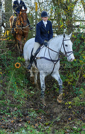 Lisa Freckingham - The Cottesmore Hunt at Owston 29/11