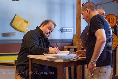 Steve Rothery book signing
