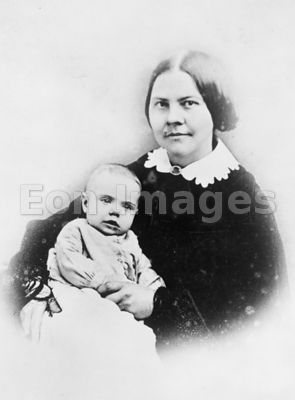 Lucy Stone with infant Alice Stone Blackwell