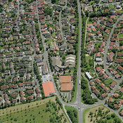 Margetshöchheim aerial photos