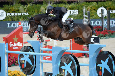 Gerco SCHRODER ,(NED), GLOCK S ZARANZA during Queen's Cup - Segura Viudas Trophy competition at CSIO5* Barcelona at Real Club de Polo, Barcelona - Spain
