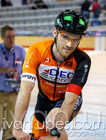 Elite Men Points Race, Ontario Track Championships, Day 2, April 11, 2015