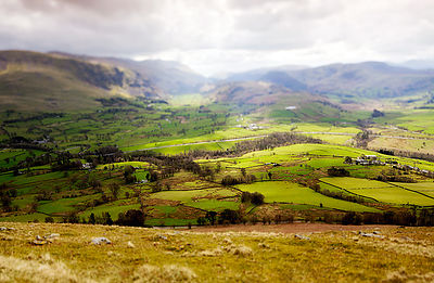 View from Blencathra in LAke District
