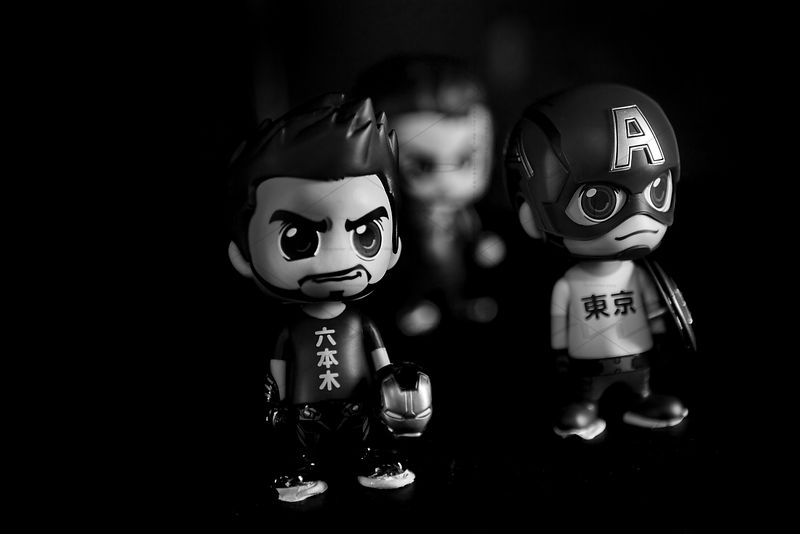 Marvel Toys Art Photographs