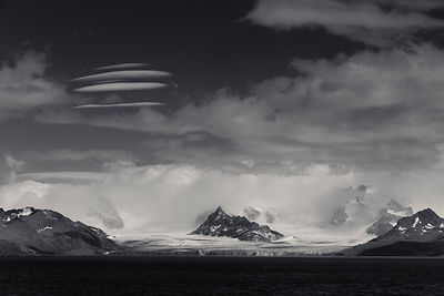 Black and White Ice and Mountains photos