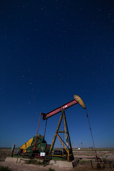 Pump Jack and the Big Dipper