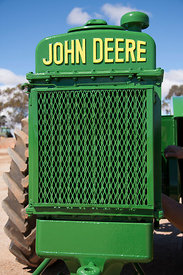 close up of John Deere Model BR