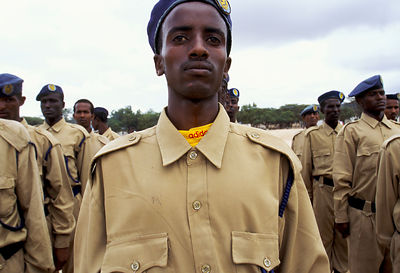 New police officers Somaliland