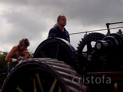 steam for the whole family on this 1918 Fowler ploughing engine