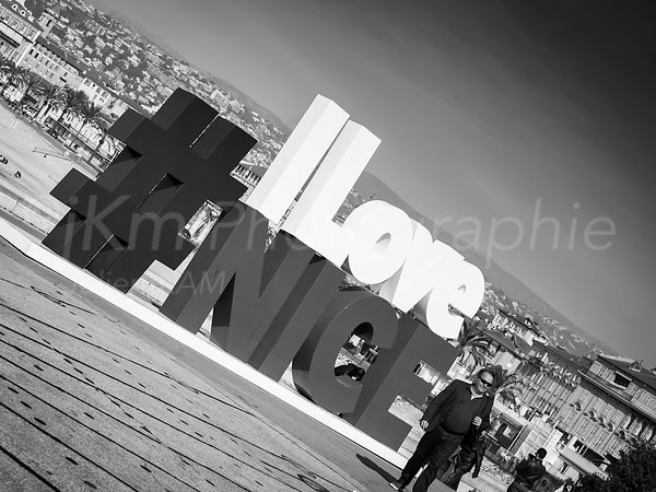 Street Photo - I Love Nice The End