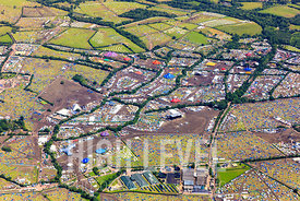 Aerial Photography Taken In and Around Glastonbury, UK