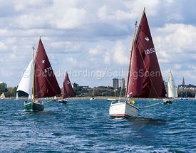 Cornish Shrimper 1050 racing in Poole Week 2017