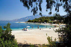 Fanari Beach, Atherinos Bay, Meganisi, Lefkas, Ionian Islands, Greece.