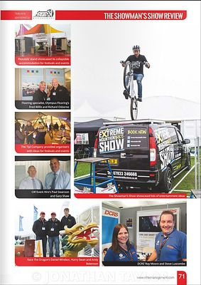 Stand Out magazine - November 2015 - Showman's Show - page 71