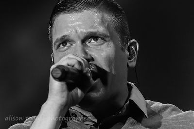 Brent Smith, vocals, Shinedown