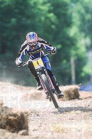 CEDRIC GRACIA MONT STE ANNE, CANADA. TISSOT MOUNTAIN BIKE WORLD CUP 2002