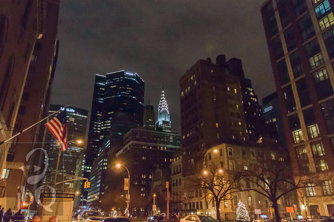 Chrysler Building from Park Ave
