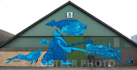 Mural at Holbæk Harbour