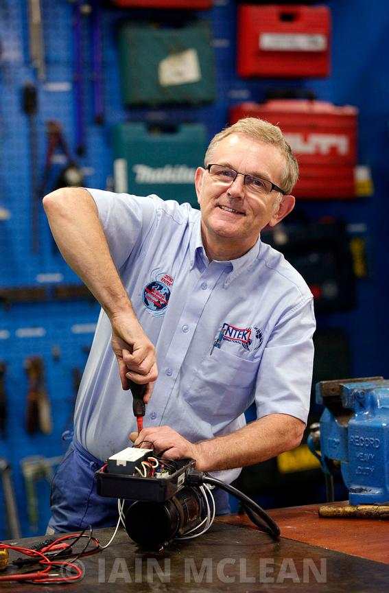 Newcastle, Northumberland. .23.8.12.The Entek International factory, photographed on behalf of Findlay Media for the Best Factory Awards nominations 2012...Picture Copyright:.Iain McLean,.79 Earlspark Avenue,.Glasgow.G43 2HE.07901 604 365.photomclean@googlemail.com.www.iainmclean.com.All Rights Reserved.No Syndication