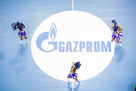 Cheerleaders during the Final Tournament - Final Four - SEHA - Gazprom league, Telekom Veszprém - Meshkov Brest in Brest, Belarus, 07.04.2017, Mandatory Credit ©SEHA/ Stanko Gruden