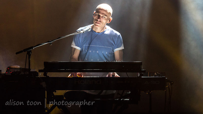 Mark Kelly, keyboards, Marillion, Montreal, 2015, Saturday