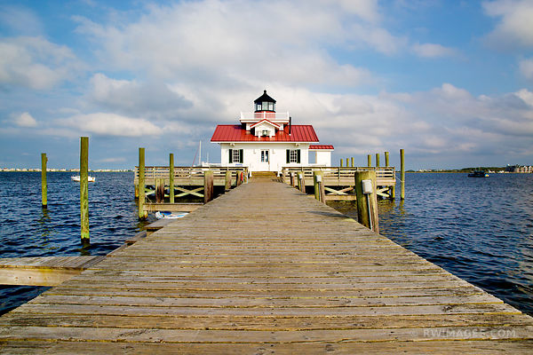 ROANOKE MARSHES LIGHTHOUSE MANTEO OUTER BANKS NC