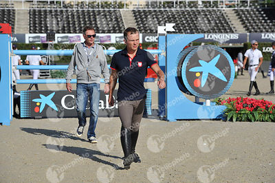 Maksymilian WECHTA ,(POL) during Coca-Cola Trofey competition at CSIO5* Barcelona at Real Club de Polo, Barcelona - Spain
