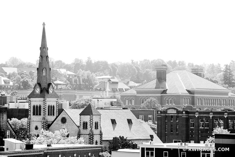BURLINGTON VERMONT BLACK AND WHITE