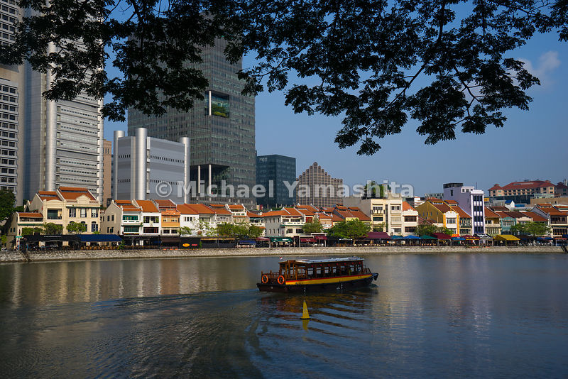 Having plied the Singapore River for more than a decade and a half, Singapore's charming bumboats are now powered by environmentally friendly engines.