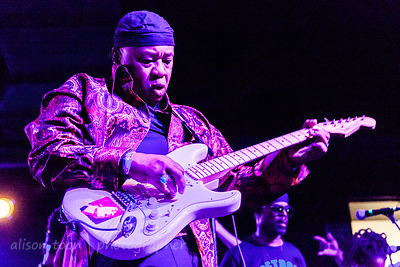 Ricardo Rouse of George Clinton and Parliament Funkadelic, August 2014