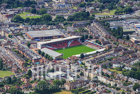 Aerial Photography Taken In and Around Gloucester-Kingsholm