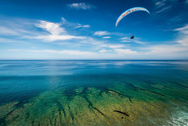 Flying above the reef with Felix Rodriguez