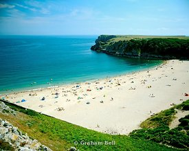 barafundle bay pembrokeshire west wales