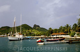 Iles Grenadines, Union Island,  le port