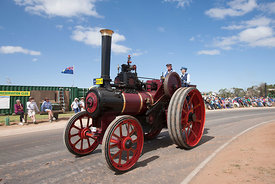Burrell steam traction engine