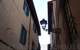 The back streets of Florence