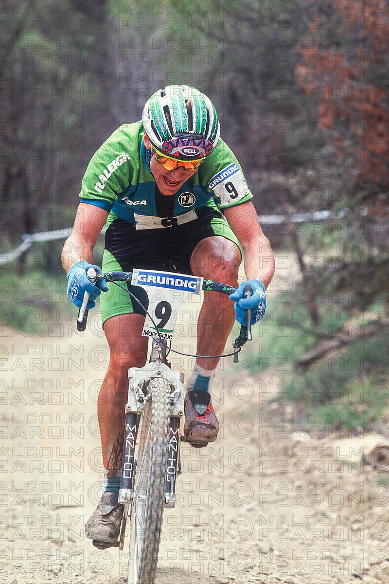 JOHN TOMAC MANOSQUE, FRANCE GRUNDIG WORLD CUP 1991