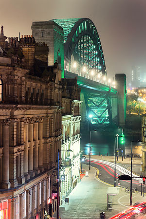Tyne Bridge.