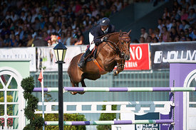 CSIO***** Gijon Nations Cup at Las Mestas, 1,50 class.