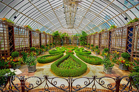 Broderie Gardens, Phipps Conservatory