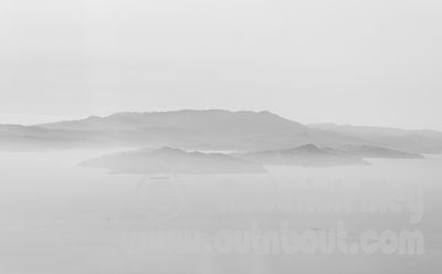 Angel Island in the Haze