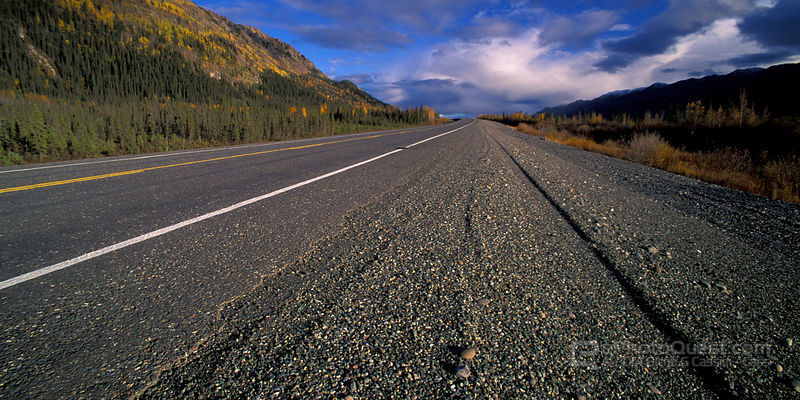 Alaska Highway with Perspective