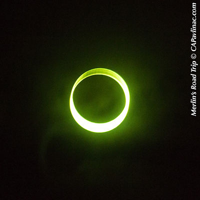 Annular Eclipse in path of totality