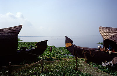 India - Kerala - Traditional houseboats
