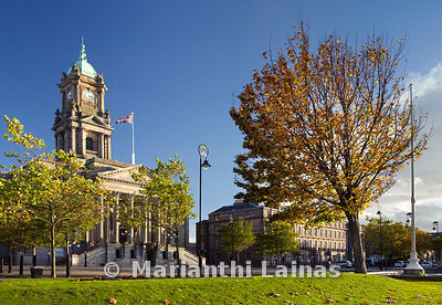 Birkenhead Town Hall, Autumn (1)
