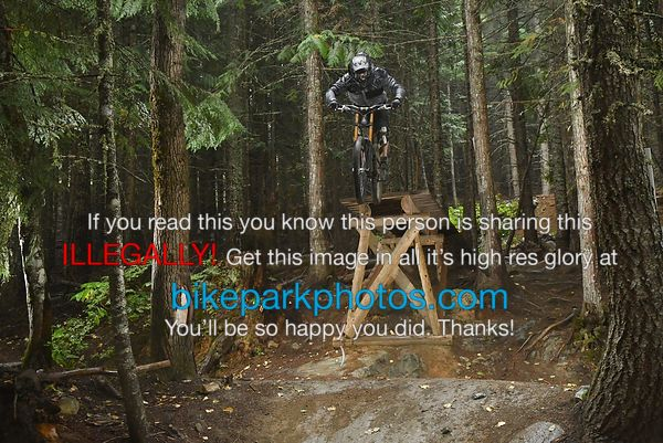 Wednesday August 29th Fade To Black bike park photos