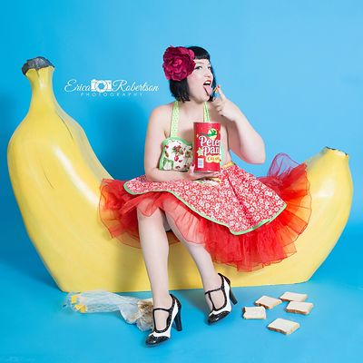 Banana Prop Pin-Up fun! photos