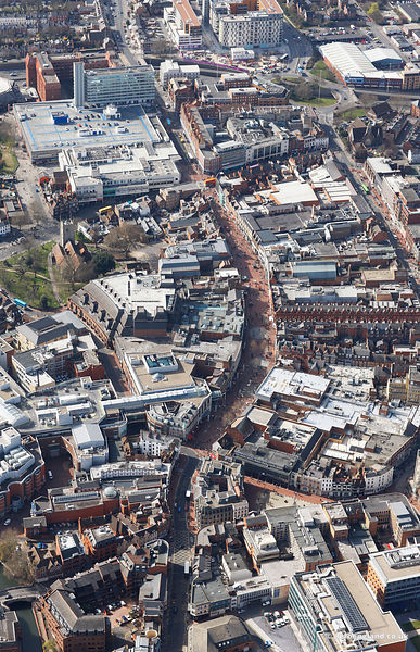 Reading Town Centre Berkshire