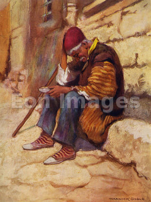 Stamboul Beggar by Warwick Goble